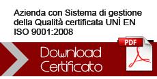 Certificato Nuova Temas srl